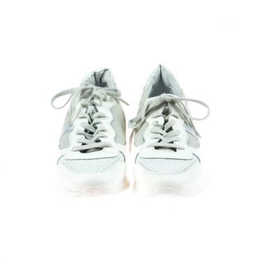 Date Damen Sneaker Leder Weiß – Bild 2