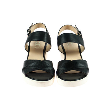 Gadea Damen Sandale Leder Schwarz – Bild 2