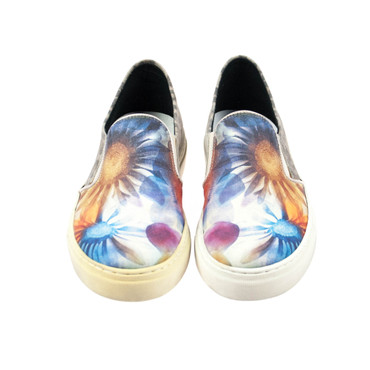 S.P.M. Damen Sneaker Leder Blumenmuster (B-Ware) – Bild 2