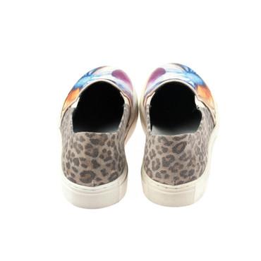 S.P.M. Damen Sneaker Leder Blumenmuster (B-Ware) – Bild 3