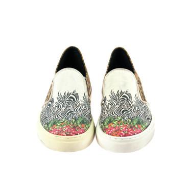 S.P.M. Damen Sneaker Blumenmuster (B-Ware) – Bild 2
