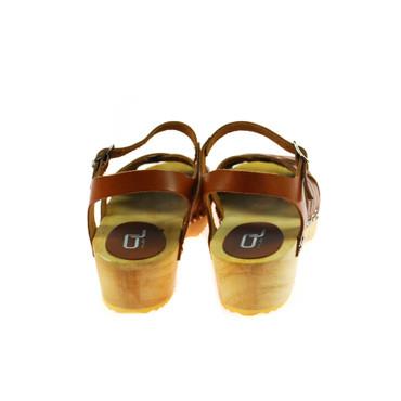 Ana Lublin Damen Sandale Leder Braun  – Bild 3