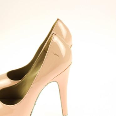 2.Wahl Latitia Klein Damen Pumps Leder Lack Pink Rosa – Bild 3