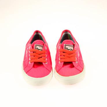 2.Wahl Pepe Jeans Damen Sneaker Pink Neonpink – Bild 2