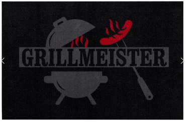 "BBQ Grillmatte ""Grillmeister Kugelgrill"""