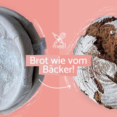 Gärkörbe - Brot wie vom Bäcker