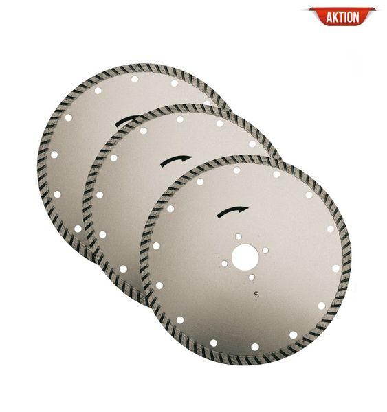 Diamant Trennscheiben-Set Ø 180 x 2.6 x 22 mm
