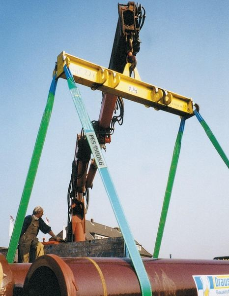 Hebeband grau 4000 kg 2 m x 120 mm