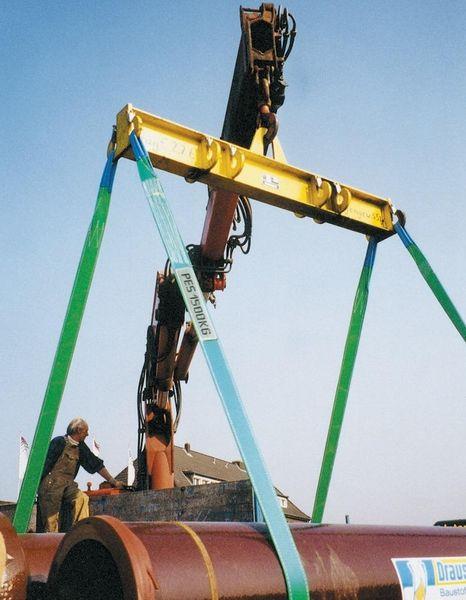 Hebeband grau 4000 kg 4 m x 120 mm