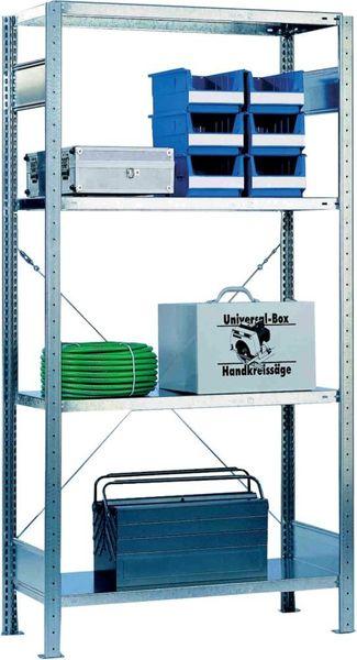 Zusatzböden 600 mm verz. Paket a 2 Stk. Schulte