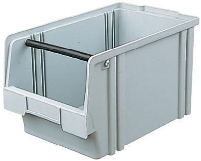 Sichtlagerkasten LK 1A grün 500/450x300x230 mm