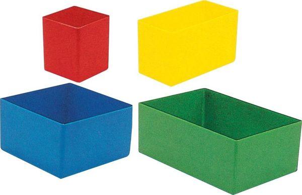 Kunststoffeinsatz 54x 54x 63mm rot (H)