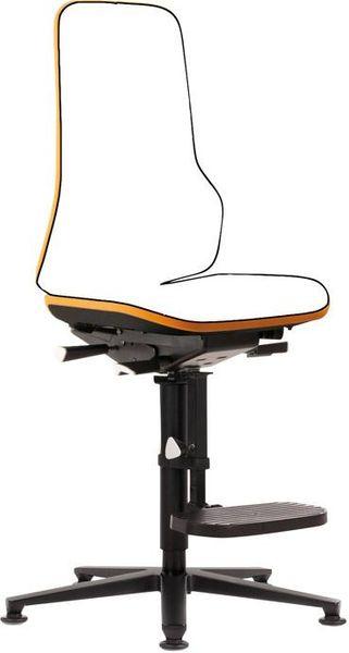 Stuhl NEON orange synchrom. Gleiter u. A.-Hilfe