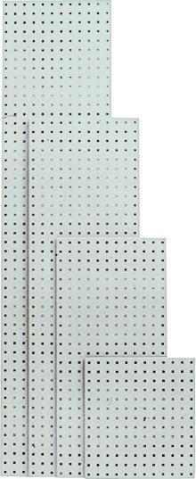 Lochplatte 1981x457 mm lichtgrau RAL 7035