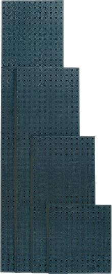 Lochplatte 495x457 mm anthrazitgrau RAL7016