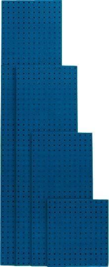 Lochplatte 1486x457 mm enzianblau RAL 5010