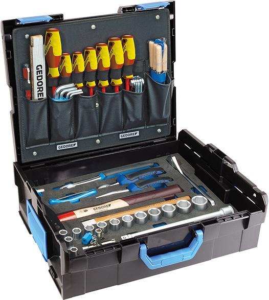 Werkzeugsort. Handwerker 58tlg. L-Boxx 136 Gedore