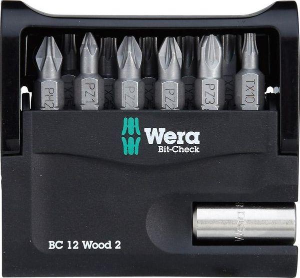 Bit-Check 12 Wood 2 Wera