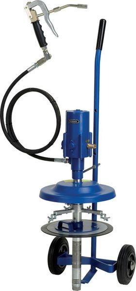 Druckluft-Abschmierg. für 25kg/Eimer Pressol