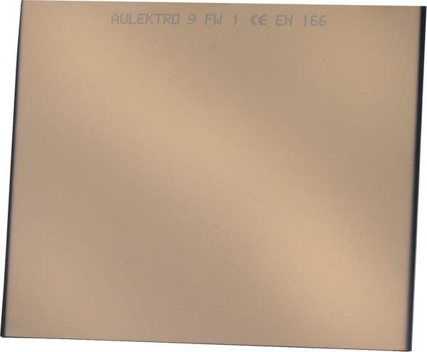 Schweißerschutzglas verspiegelt 51x108 DIN 12