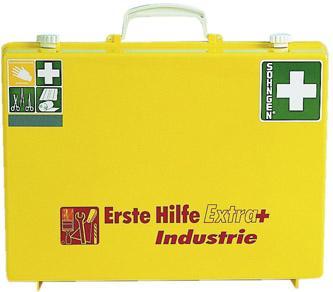 Erste-Hilfe-Koffer Extra+Industrie, DIN 13157,gelb