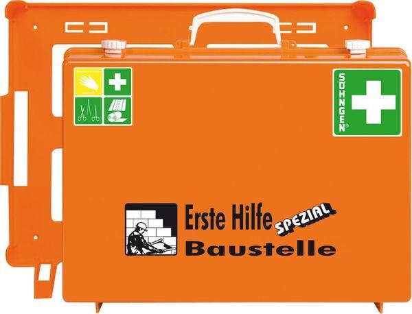 ErsteHilfe-Koffer SpezialMT-CD Baustelle, orange