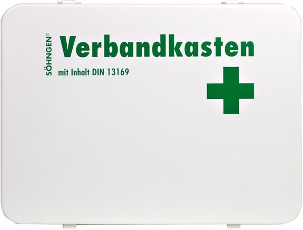 Verbandkasten OSLO m. Füllung Std. DIN 13169