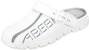 Clog 7310, OB FO EA SRC,weiß,Gr.44