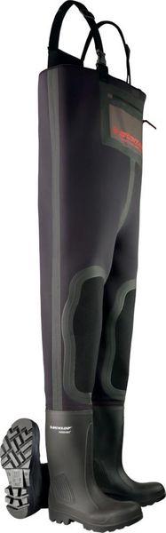 Wathose Dunlop Purofort Neoprene, S5, Gr. 48