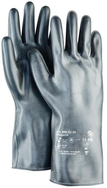 Handschuh Vitoject 890, 350 mm, Gr.8,schwarz