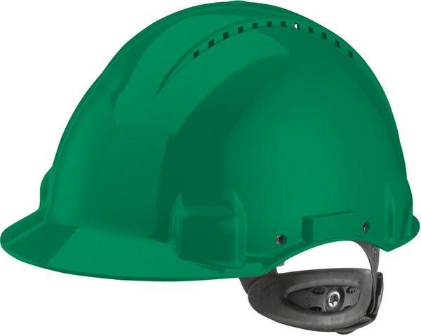 Schutzhelm G3000N,ABS, Ratschensystem, grün