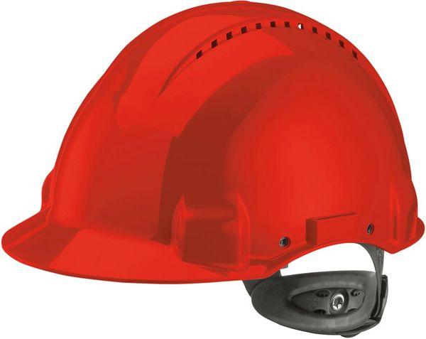 Schutzhelm G3000N,ABS, Ratschensystem, rot