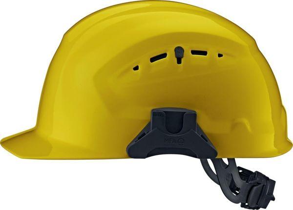 Schutzhelm CrossElectric mit Drehverschluss, gelb