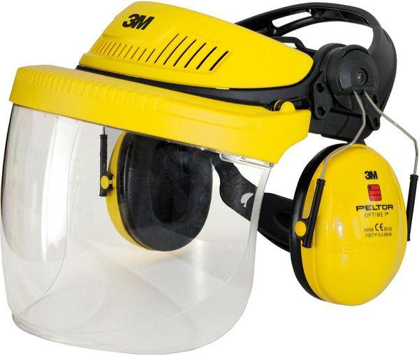 Schutzhelm G500 gelb m.H510P3E m.Polycar.5F-11
