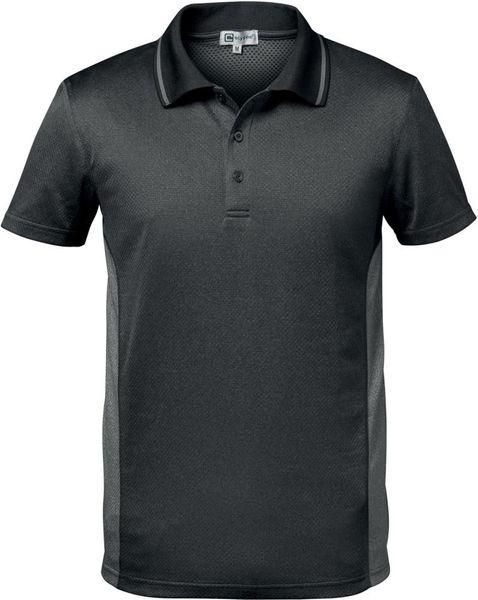 Funkt.Poloshirt Cordoba, Gr. S, dunkelgrau