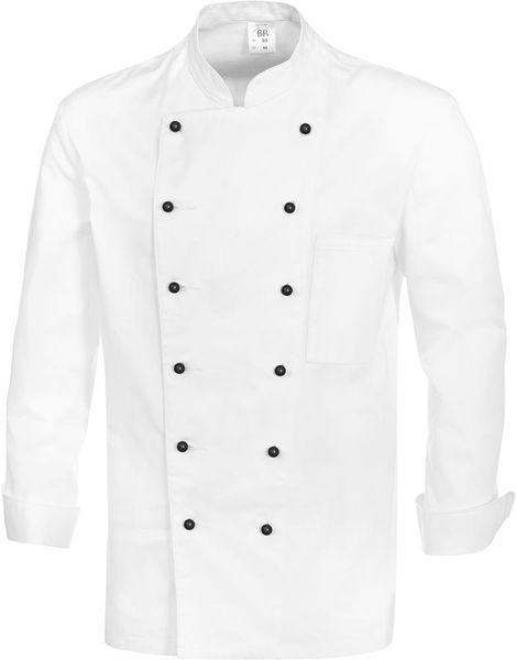 Kochjacke 1500 130, Gr. 56, weiß