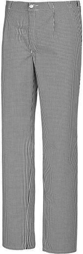 Koch-/Bäckerhose 1353 910Gr.58, schwarz/weiß