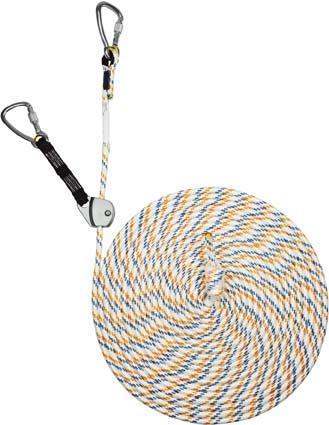 Auffanggerät MAGIC,mitl.,KM Seil 12mm, Länge 15 m