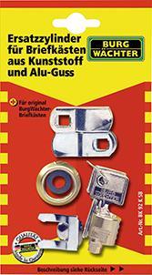 Zylinder BK 92M SB f.alle Metall-Briefkästen