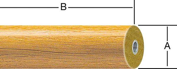 Handlauf Buche 1500 mm STRECKE