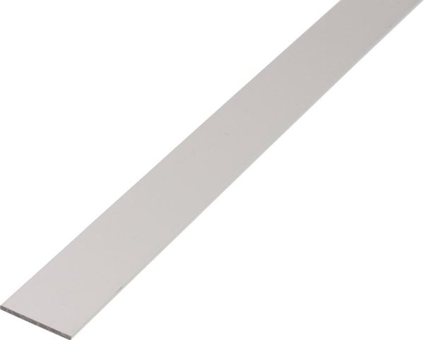 Alu-Flachstange 1000/15x2mm silberfarbig