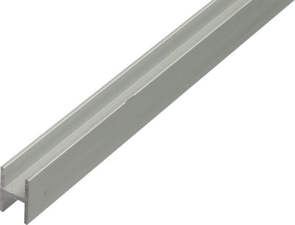 Alu-H-Profil 1000/9,1x12 mm silberfarbig