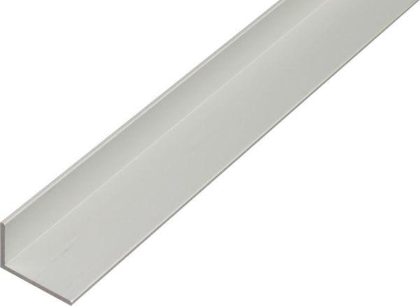 Alu-Winkelprofil 2000/40x20mm silberfarbig