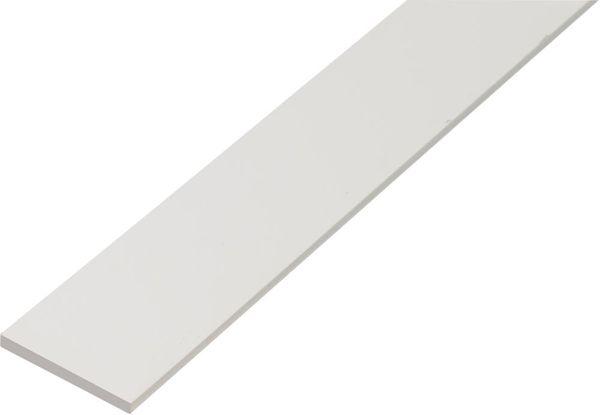Flachstange KST,weiß,30x3/1m