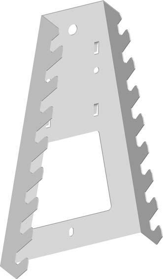 Werkzeughalter weiss 11410 1 Stk. auf Karte