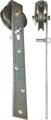 Schiebetorrollen Nr.501 105 mm