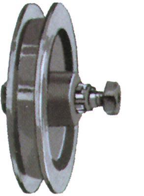 Schiebetorrollen,lose 330463 140mm