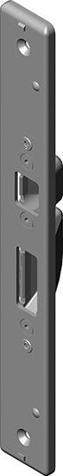 HT-Zusatzschließblech, DR3625-153-1Q,USB,f. KF.,