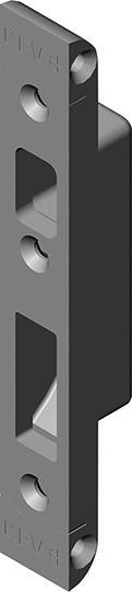 HT-Zusatzschließblech, 3692-01-20,SLK,f. Holz.,