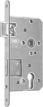 Korridorschloss PZW 55/72/8/2 DIN links Falz